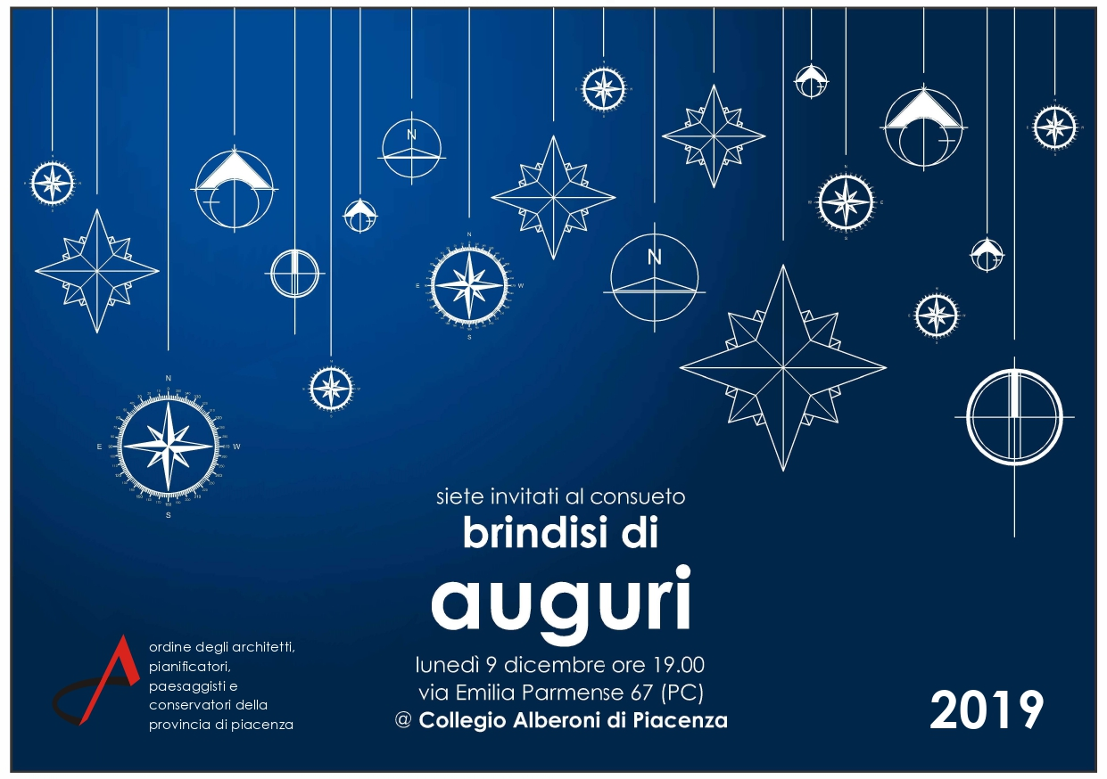 Scambio Auguri Di Natale.Invito Scambio Degli Auguri Di Natale 2019 Ordine Architetti Piacenza